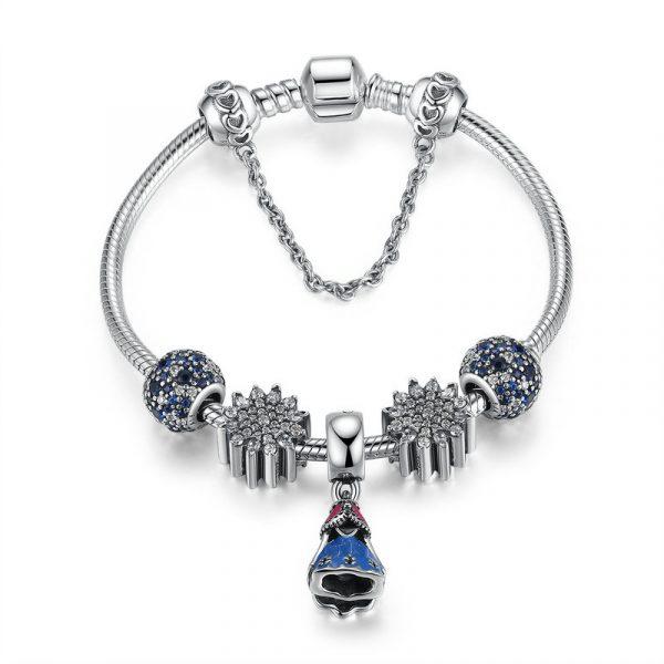 pandora bracelet in sterling silver material wholesale