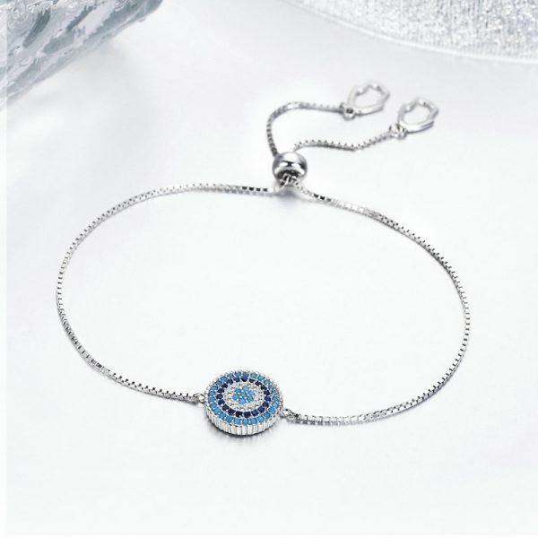 925 sterling silver jewelry evil eye bracelets