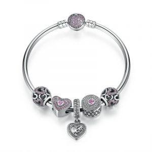 Sterling silver new baby pandora bracelet sale