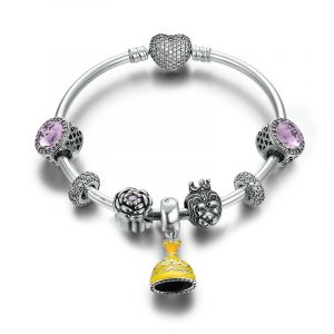 pandora beaded bracelet with pandora style charms wholesale