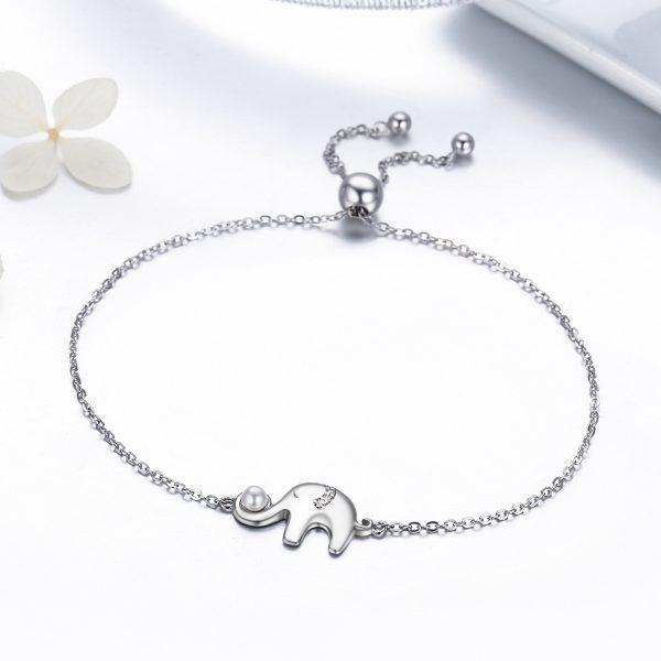silver elephant bracelet sterling silver bracelets wholesale