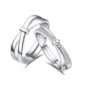 Adjustable Couple Rings Direct Jewelry Manufacturer Of Couple Engagement Rings