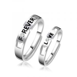 Couple Wedding Rings Wholesale Promise Rings For Him And Her