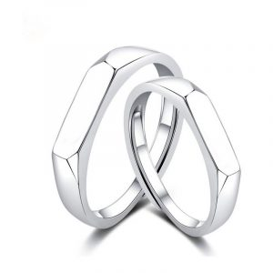 Unisilver Couple Ring Cheap Promise Rings For Couples